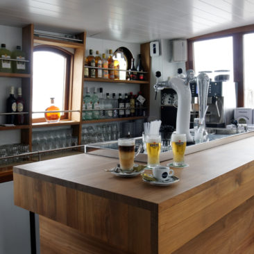 Bar met drankjes
