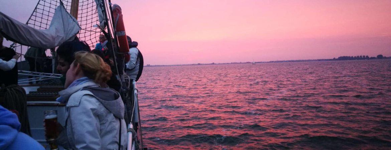 Prachtige zonsondergang 4